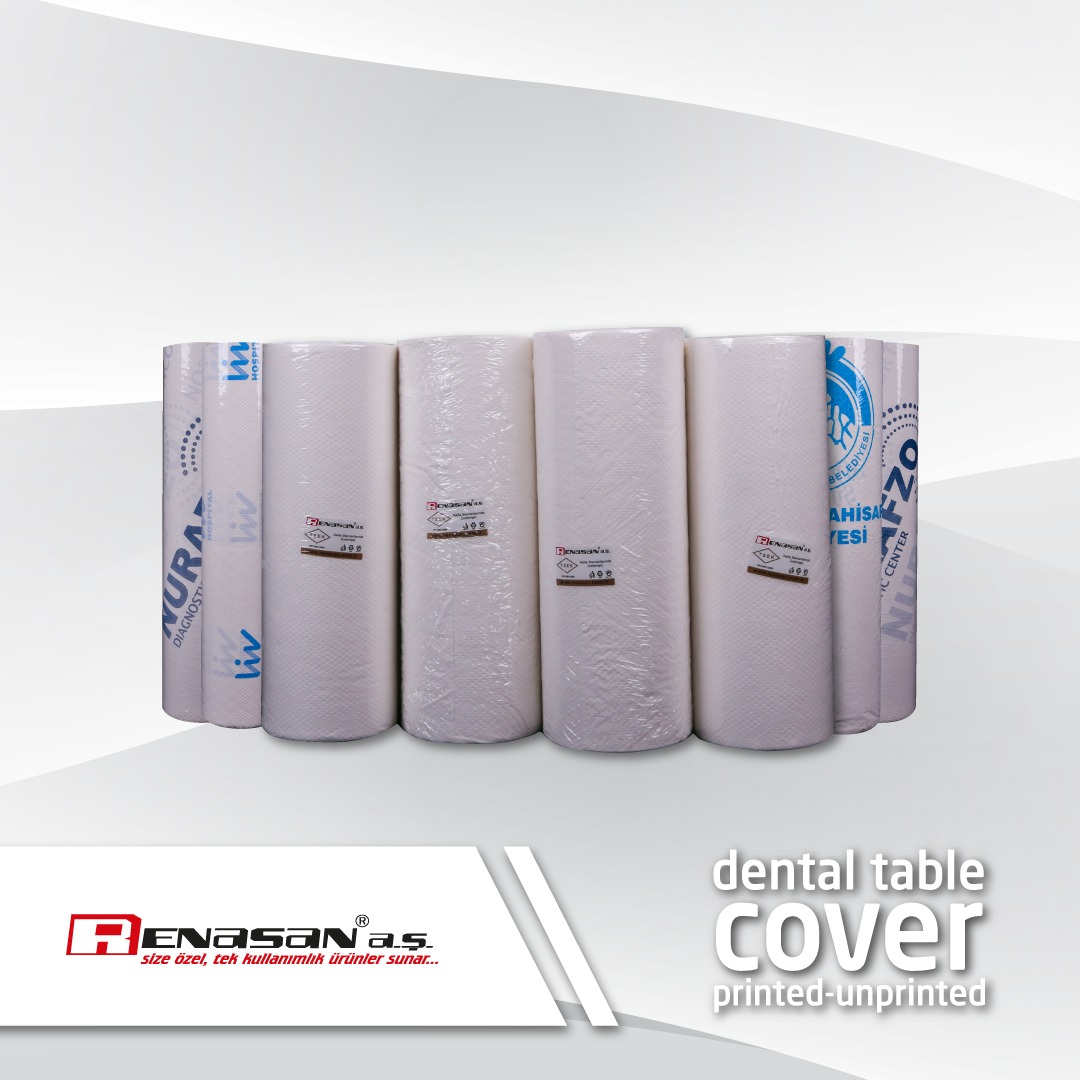 dental table cover printed unprinted