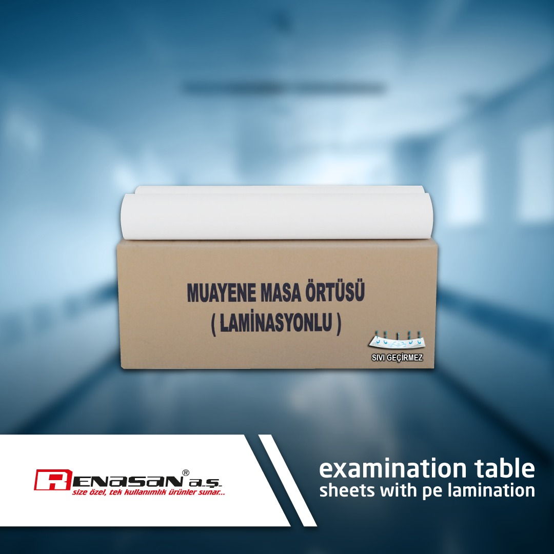 examination table sheets with pe lamination